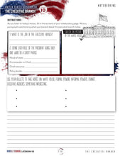 Load image into Gallery viewer, US Government Mini Unit Student Notebook (HARD COPY)
