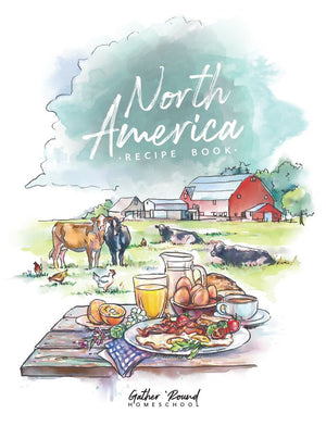 North America Recipe Book (HARD COPY)