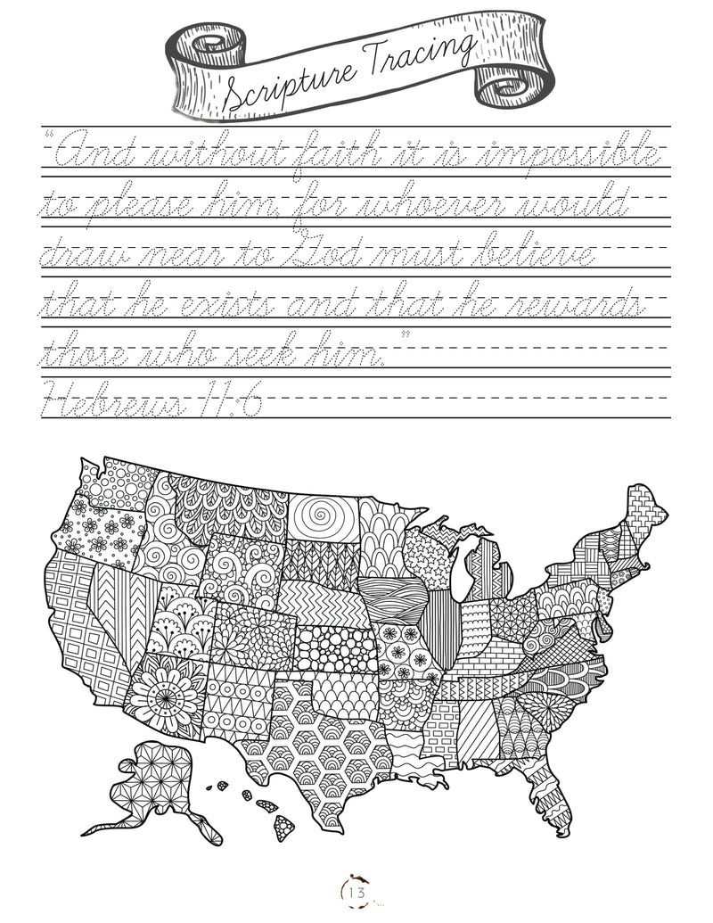 North America Cursive Writing Book (DIGITAL)