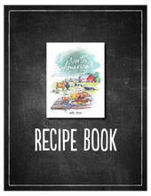 Load image into Gallery viewer, North America Recipe Book (HARD COPY)