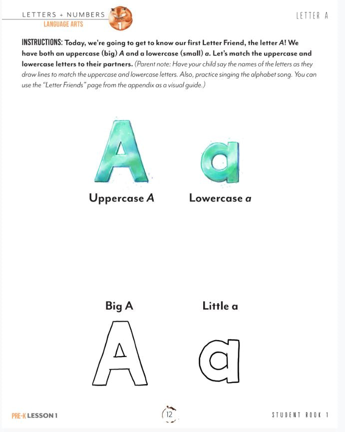 Letters and Numbers Book 1 (DIGITAL)