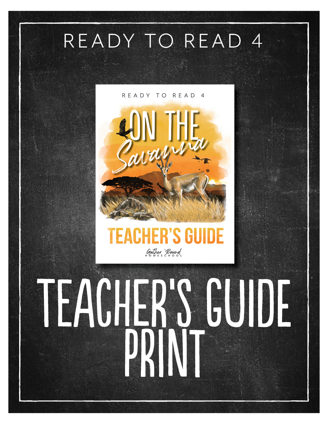 Ready to Read 4: On the Savanna Teacher's Guide (HARD COPY)