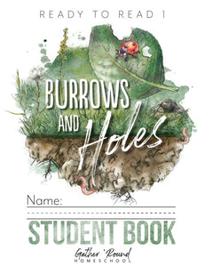 Ready to Read 1: Burrows and Holes Student Notebooks A+B (HARD COPY)