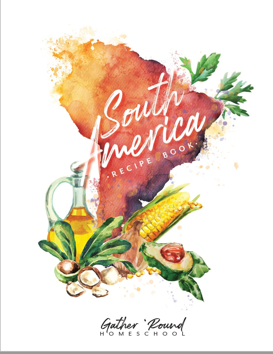 South America Unit Recipe Book (HARD COPY)