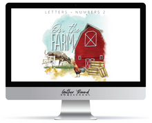 Load image into Gallery viewer, Letters and Numbers Book 2: At the Farm (DIGITAL)
