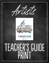 Load image into Gallery viewer, Artists Teacher's Guide (HARD COPY)