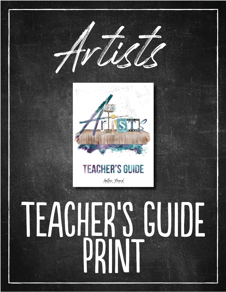 Artists Teacher's Guide (HARD COPY)