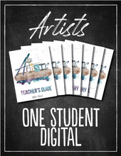 Load image into Gallery viewer, Artists 1 Student Bundle (DIGITAL)