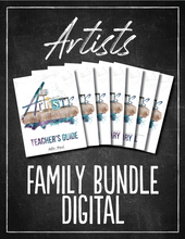 Load image into Gallery viewer, Artists Family Bundle (DIGITAL)
