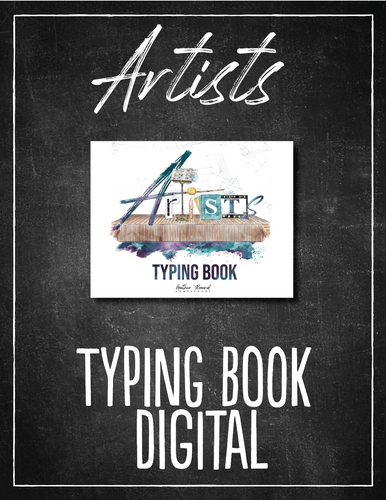 Artists Typing Book (DIGITAL)