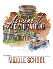 Load image into Gallery viewer, Ancient Civilizations Student Notebook (Hard Copy)