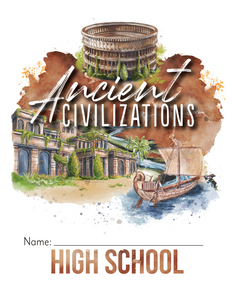 Ancient Civilizations Student Notebook (Hard Copy)