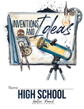 Load image into Gallery viewer, Inventions and Ideas Student Notebook (Hard Copy)