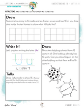 Load image into Gallery viewer, Letters + Numbers 4: In the Air Student Notebooks A+B (Hard Copy)