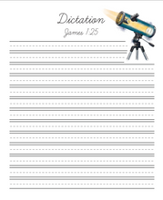 Load image into Gallery viewer, Inventions and Ideas Cursive Writing Notebook (HARD COPY)