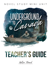 Load image into Gallery viewer, Underground to Canada Teacher's Guide (HARD COPY)