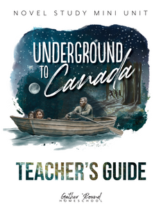 Underground to Canada Teacher's Guide (HARD COPY)