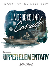Load image into Gallery viewer, Underground to Canada Student Notebook (HARD COPY)