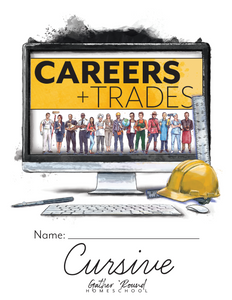 Careers and Trades Cursive Writing Notebook (Digital)