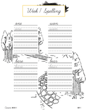 Load image into Gallery viewer, Careers and Trades Cursive Writing Notebook (HARD COPY)