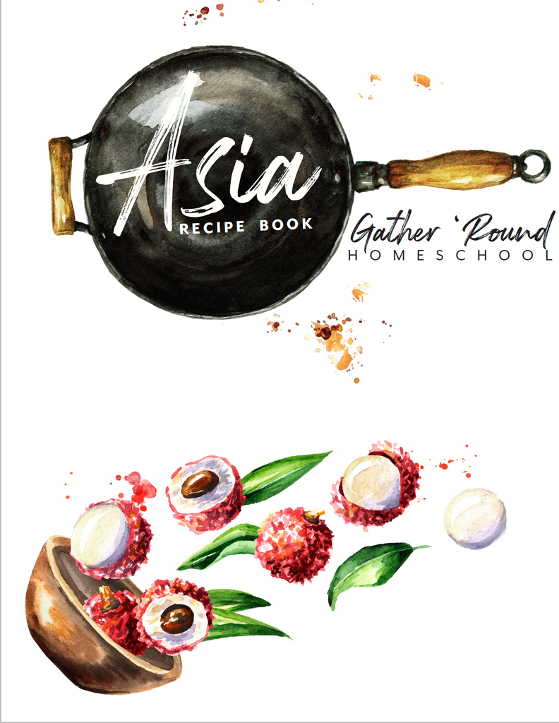 Asia Recipe Book (HARD COPY SPECIAL)
