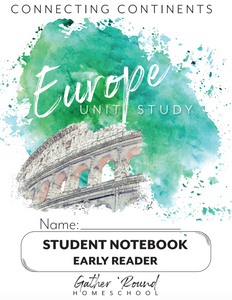 Europe Student Notebooks (HARD COPY)
