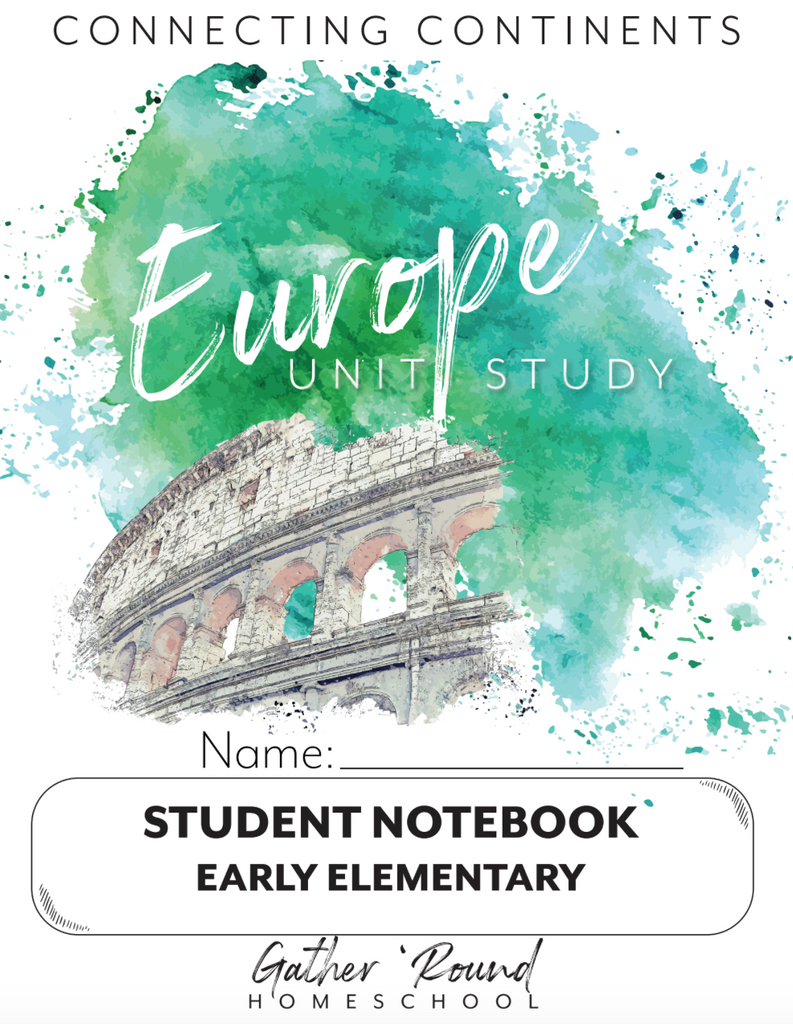 Europe Student Notebooks (PRINT)