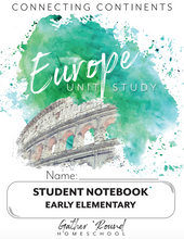 Load image into Gallery viewer, Europe Student Notebooks (HARD COPY)