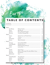 Load image into Gallery viewer, Europe Recipe Book (DIGITAL)