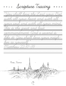 Europe Cursive Writing Book (HARD COPY)