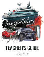 Load image into Gallery viewer, Transportation Teacher's Guide (Hard Copy)