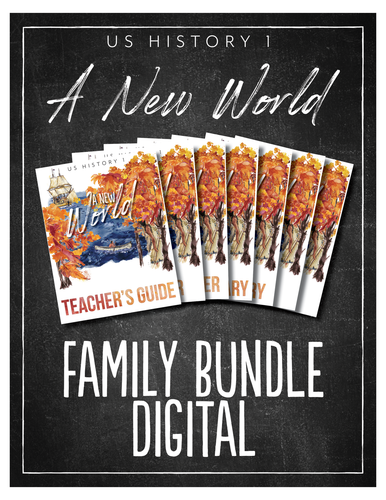 US History 1 Family Bundle (DIGITAL)