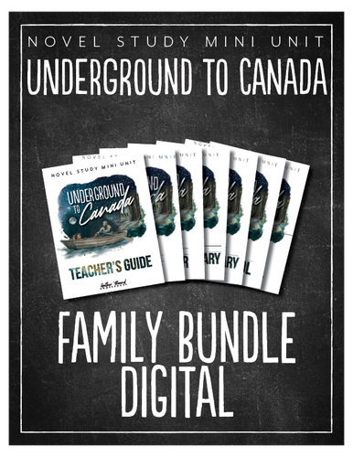 Underground to Canada Family Bundle (Digital)