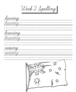 Oceania Cursive Writing Notebook (DIGITAL)