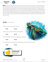 Load image into Gallery viewer, Oceans Student Notebook (HARD COPY)