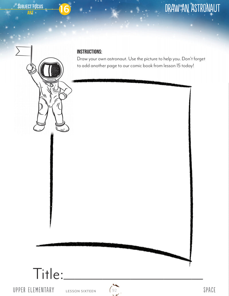Space Student Notebooks (HARD COPY)
