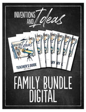 Load image into Gallery viewer, Inventions and Ideas Family Bundle (Digital)