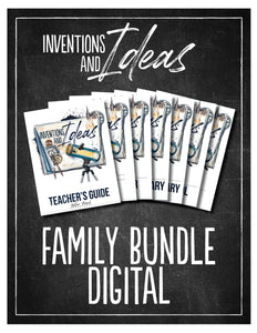 Inventions and Ideas Family Bundle (Digital)