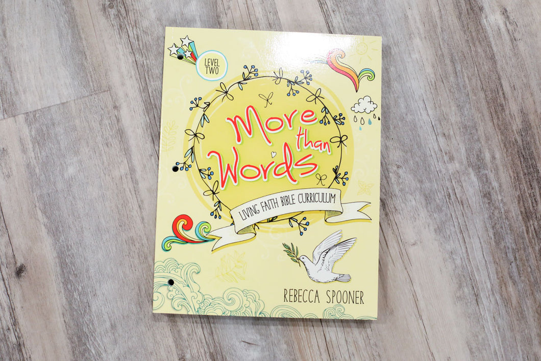 More Than Words Level 2