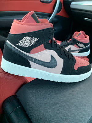 NIKE AIR JORDAN 1  MID 'CANYON RUST'