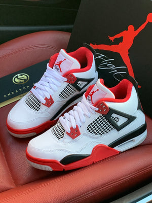NIKE AIR JORDAN 4 'FIRE RED'