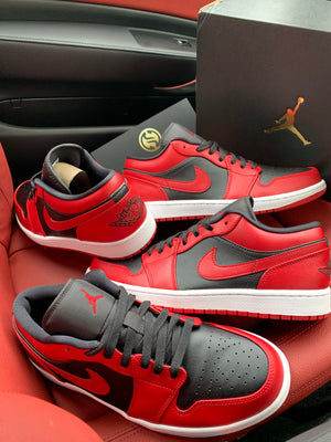 NIKE AIR JORDAN 1 LOW 'REVERSE BRED'