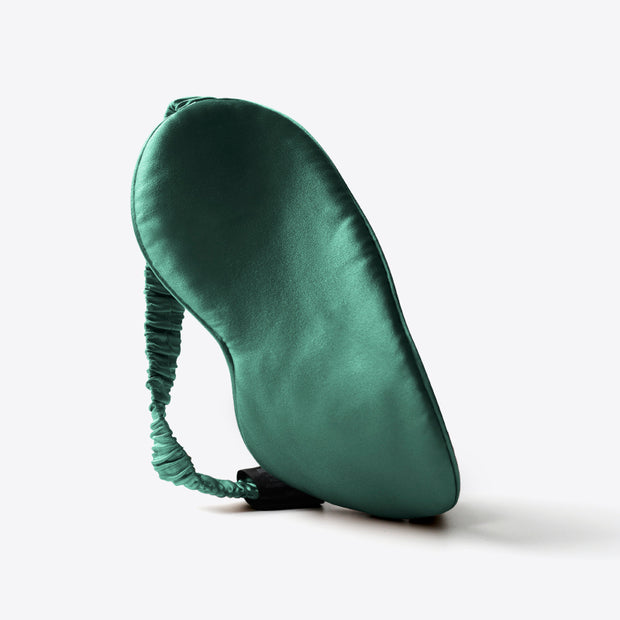 Silk Eye Mask - Green
