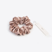 Silk Hair Scrunchie- Pink