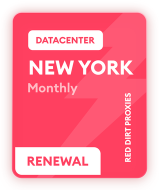 **READ DESCRIPTION** *MONTHLY RENEWAL* NEW YORK MONTHLY DC PROXIES