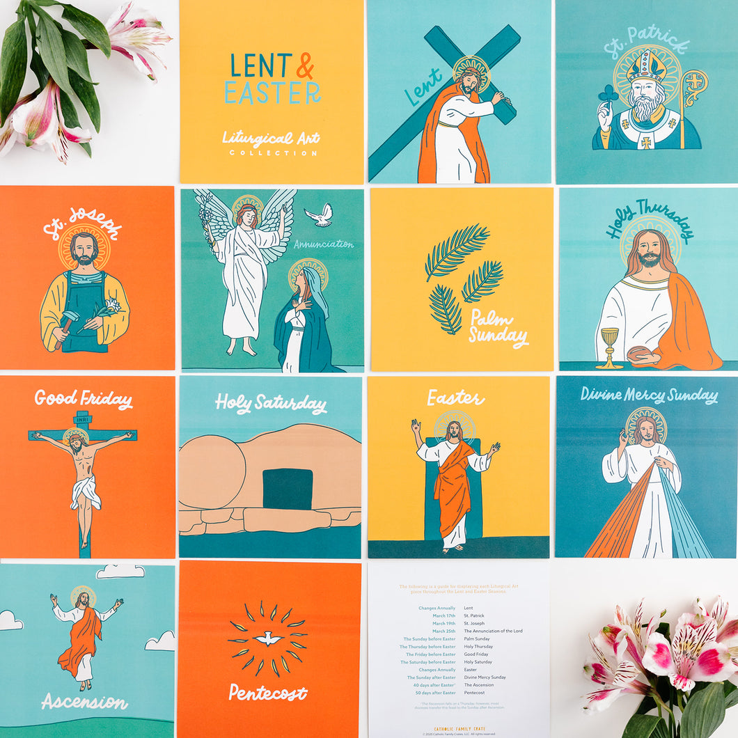 Liturgical Art Prints: Lent & Easter