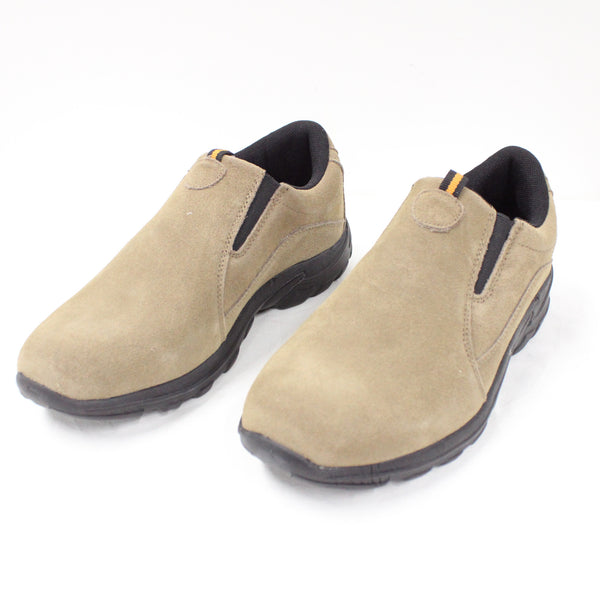 BRONSON Texas Suede Leather Slip-On Taupe Men Shoes Size 7 #209