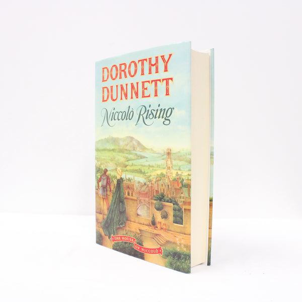 """Niccolò Rising"" by Dorothy Dunnett Hardcover Book (House of Niccolò Vol 1) #416"