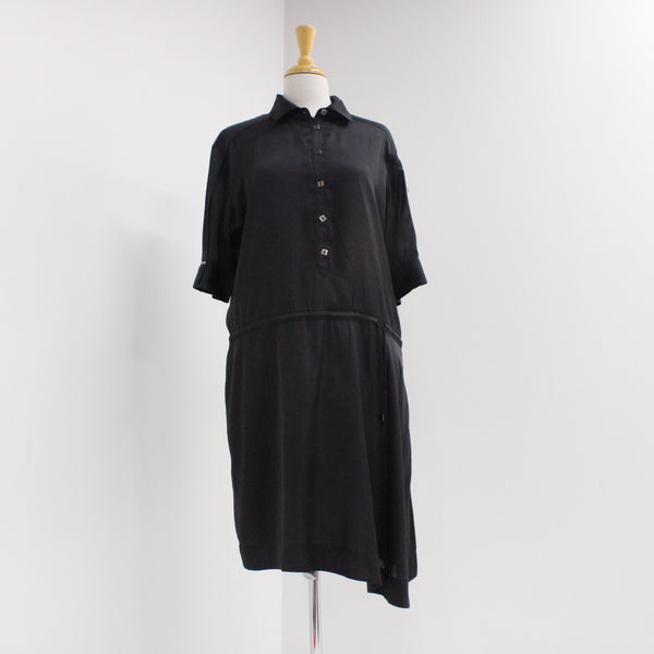 LISA HO Women's Short Sleeve Dress Black AU Size 14 #925