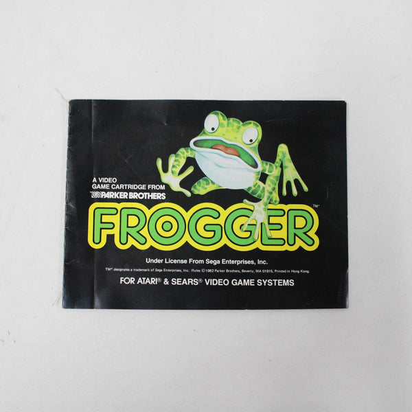 Vintage Atari Sears Sega Frogger Game Instruction BOOKLET ONLY #416